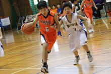 ミニバスケットボール1